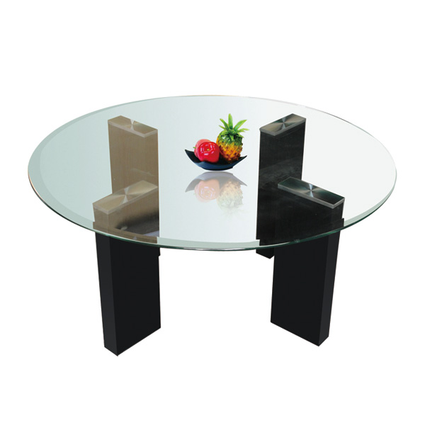 Glass top coffee table CT-10040
