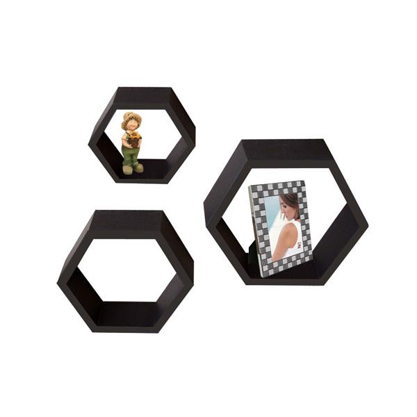 Hexagon wall shelf WS-3629524