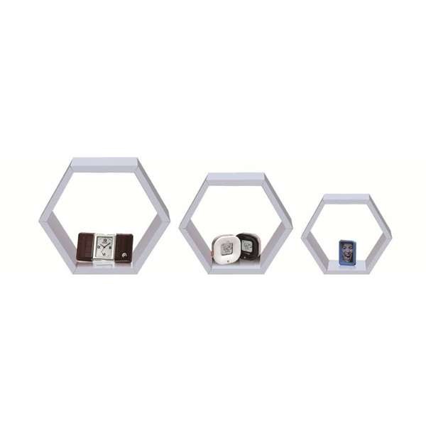 Hexagon wall shelf WS-3629524W