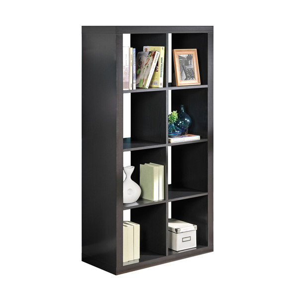Hollowcore 8 cube Bookcase BS-1497939