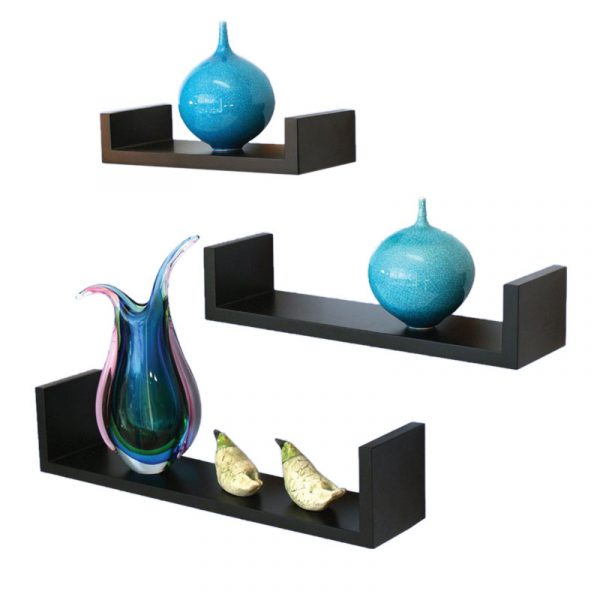 Set 3 U shape wall shelf WS-43109