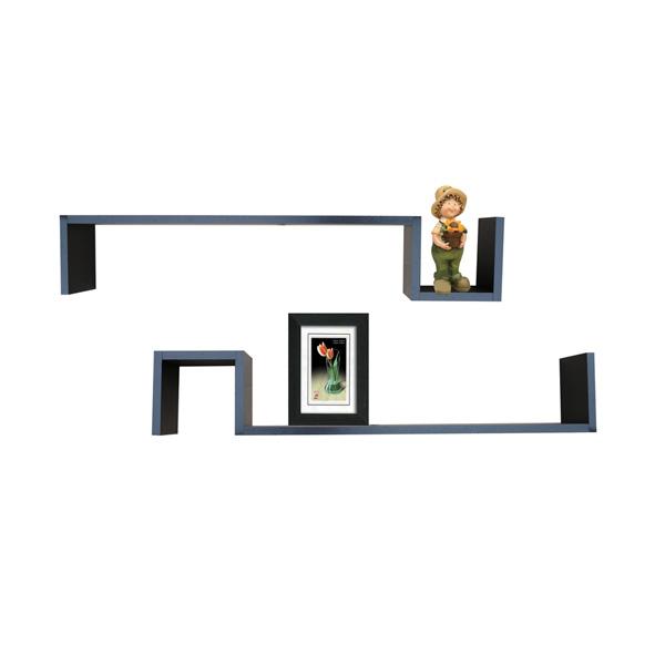Wooden wall shelf WS-8013148B