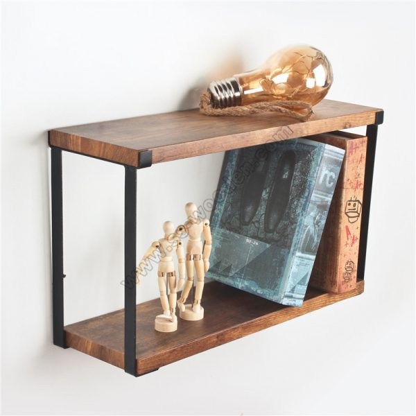 2-Tier Floating Display Shelves SS-IN805-D
