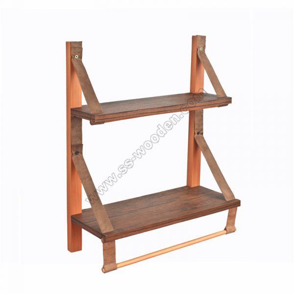 2-Tier Vintage Ladder Shelf SS-VI704