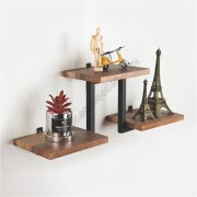 2-Tier Wall Shelf with Tube SS-IN801-D