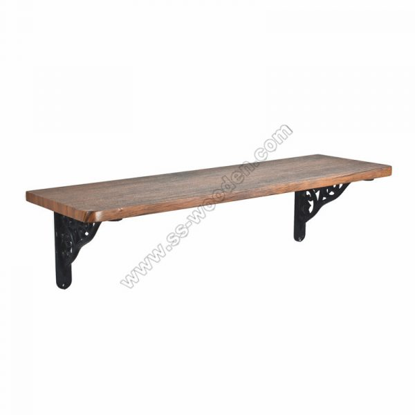 Floating Wall Shelf with Brackets SS-IN811