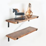 Industrial Forged Steel Floating Shelf SS-IN803-D