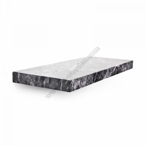 Marble Floating shelf SS-MO603black