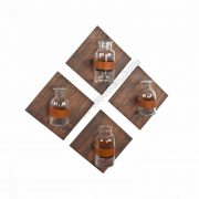 Set of 4 DIY Hang Shelves with Leather Straps SS-VI707