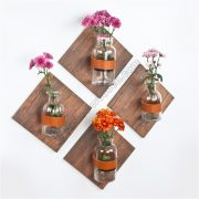 Set of 4 DIY Hang Shelves with Leather Straps SS-VI707-D