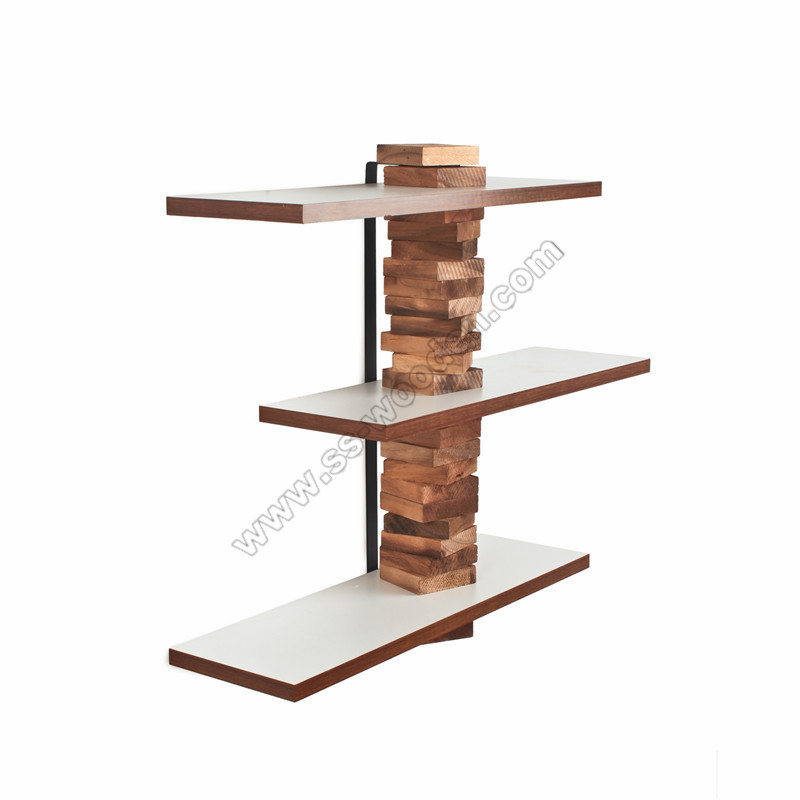 new style 72ea0 b04ef 3-Tier Modern Hanging Wall Shelf SS-VI703 | SS Wooden Products